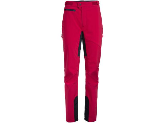 VAUDE Qimsa II Softshell Pants Dame cranberry